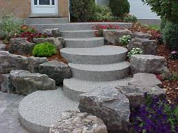 Driveway And Patio Company Exposed Aggregate Concrete Landscape Contractor Kitchener Waterloo