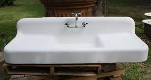 Ideal Farmhouse Kitchen Sinks  READINGWORKS Furniture - Farmhouse kitchen sinks with drainboard