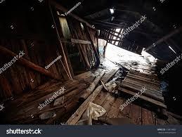 old grunge abandoned broken ship barn stock photo 114614869