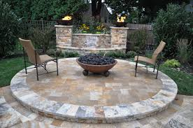 Fire Pit With Water Feature - masonry gappsi giuseppe abbrancati