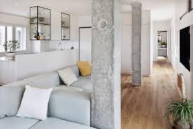 interior pillars modern and inspiring interior displaying concrete pillars by