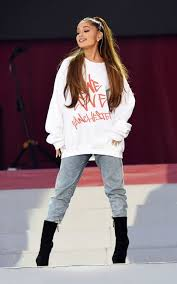 arian love com where to buy the one love manchester charity jumper as worn by