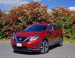 2016 Nissan Murano Platinum Is Almost A Luxury Suv Car Reviews