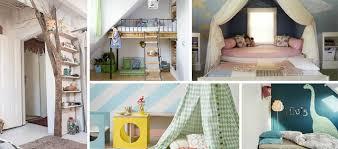 cabane dans chambre cabane chambre enfant chambre