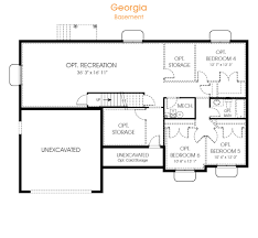 100 3 bedroom plans with basement home design 3 bedroom