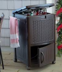 Patio Ice Cooler by Wicker Patio Ice Chest Coolers Outdoor Furniture