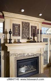 stock photography of architectural trim dark brown painted