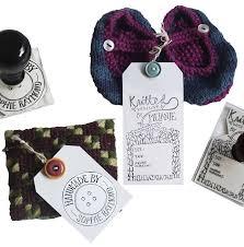 personalised u0027button u0027 craft stamp by bloomfield u0026 rolfe