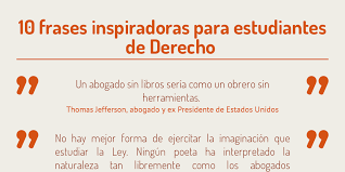imagenes inspiradoras para estudiantes frases para estudiantes de derecho by federico garateguy infogram