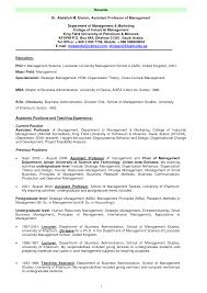 Additional Activities Resume Adjunct Professor Resume Sample Gallery Creawizard Com