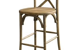 Cross Back Bar Stool Bar Bar Height Stools Contemporary Counter Stools Upholstered