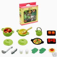 sylvanian families cuisine sylvanian family accessory gourmet cuisine food set ebay