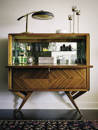 Home Bar Cabinet by Interiors San Francisco Apartment By Catherine Kwong San