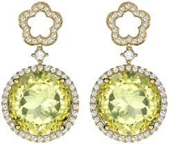 mcdonough citrine drop earrings kate middleton s mcdonough earring collection kate