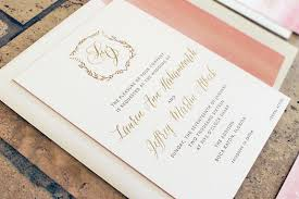 wedding invitations gold foil blush watercolor and gold foil invitations for a wedding at the