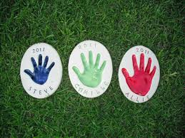 Personalized Garden Decor Personalized Garden Stepping Stones Kit Home Outdoor Decoration