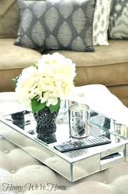 Decorative Trays For Coffee Table Outstanding Large Tray For Ottoman Large Decorative Trays
