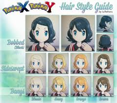 pokemon x hair guide images pokemon images