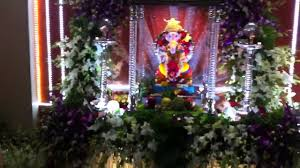 Flower Decoration At Home by Ganapati 2011 My Home Youtube