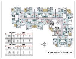 777 Floor Plan by Sai Park Kent Builders U0026 Developers At Loni Kalbhor Pune