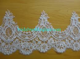wedding dress trim 21 cm 8 2 inches bridal lace trim quality corded lace trim