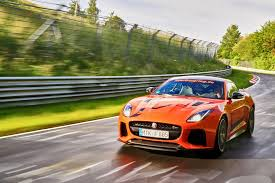 jaguar f type custom jaguar f type svr unleashed at nürburgring private edition