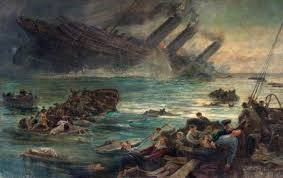 sinking of the lusitania lest we forget the sinking of the lusitania art uk