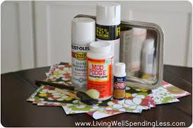 Makeup Vanity Tray Diy Dollar Store Makeup Tray Living Well Spending Less