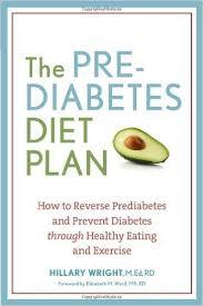 prediabetes diet plan book hillary wright