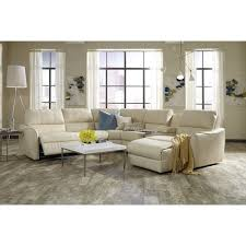 Palliser Chaise Palliser Arlo Contemporary Sectional Sofa With Chaise And Console