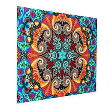 24x36 inches visual puzzle silk poster psychedelic puzzle magic