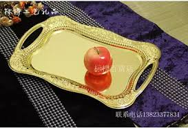 wedding serving trays stainless steel rectangle serving tray metal plate dish for