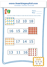 Number 13 Worksheet Circle The Correct Number Archives Teaching My Kid