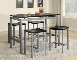 high dining room table cool bar high kitchen tables home design