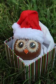 up cycledhand painted light bulb owl ornament by designsbyjodyrife