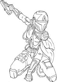 coloring pages for mandalorian coloring pages creativemove me