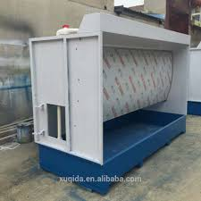 Spray Booth Ventilation System Paint Booth With Water Curtain Paint Booth With Water Curtain