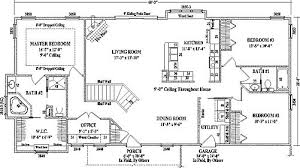 ranch style house floor plans fanciful 4 bedroom ranch style house plans ideas ranch