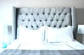 Upholstered White Headboard by White King Headboard U2013 Skypons Co