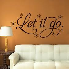 aliexpress com buy let it go cartoon wall quote stickers vinyl