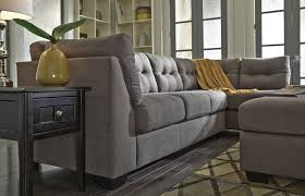 Ashley Furniture Leather Sectional With Chaise Interior Gorgeous Lady Charcoal Sectional For Living Room