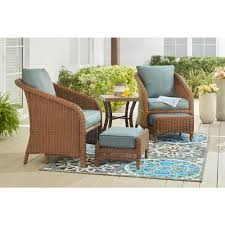 outdoor sitting patio conversation sets outdoor lounge furniture the home depot