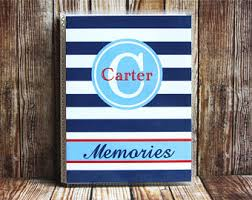 monogrammed photo album wedding brag book etsy