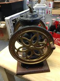 Cast Iron Coffee Grinder 2 Wheel Reproduction Coffee Grinder Auction Items Pinterest