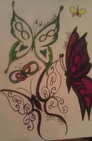 ideas concept butterfly tattoos butterfly infinity