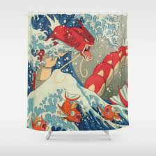 Vintage Mermaid Shower Curtain - vintage shower curtains society6