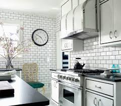 Backsplash Subway Tiles For Kitchen Kitchen Backsplash Kitchen Backsplash Subway Tile With Accent