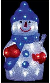 led outdoor snowman decorations lights indoor exterior