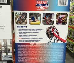Discount Season Pass Six Flags Great America 2016 Gold Season Pass Costco Weekender