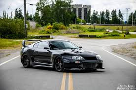 stanced toyota supra car picker black toyota supra